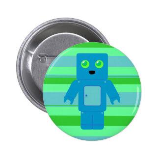Blue Robot Button