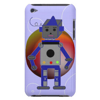 Blue Robot Case-Mate iPod Touch Case