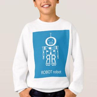 Blue Robot Sweatshirt