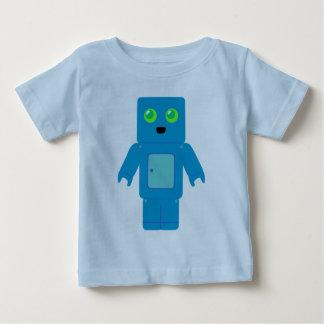 Blue Robot Tee Shirt