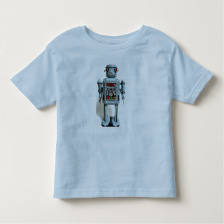 Blue Robot - Todler T - Toddler T-shirt