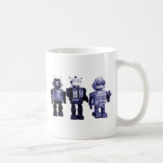 blue robots mug