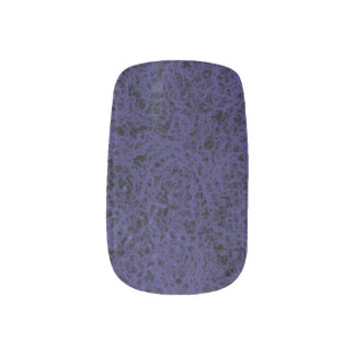 Blue Rock Lava Minx Nail Wraps