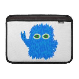 Blue Rock N Roll Monster MacBook Sleeve