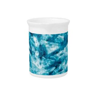 blue rock of glory beverage pitcher
