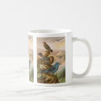 Blue Rock Thrush Coffee Mug