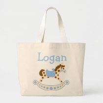 Blue Rocking Horse Bags