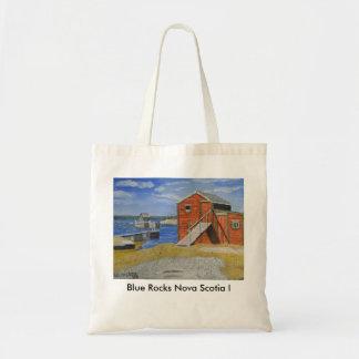 Blue Rocks, Nova Scotia I Tote Bag