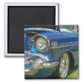 Blue Rod 2 Inch Square Magnet