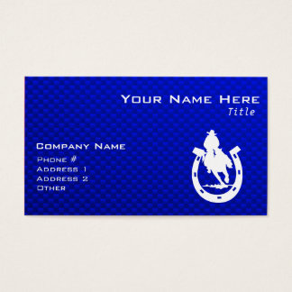 Blue Rodeo Business Card