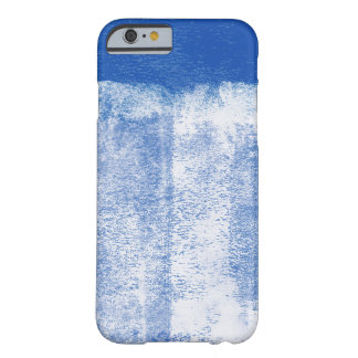 Blue rolled paint iphone 6 case