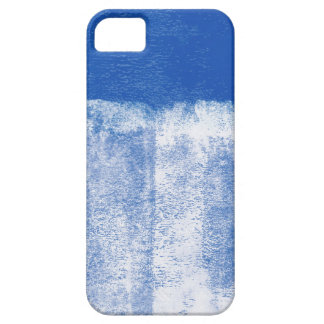 Blue rolled paint iPhone SE/5/5s case