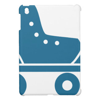 Blue Roller Skate Icon Cover For The iPad Mini