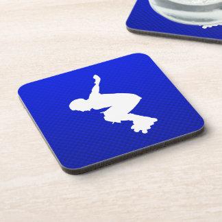 Blue Rollerblading Coaster