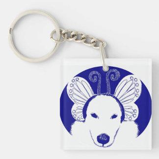 Blue Roo Keychain