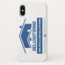Blue Roof iPhone X Case