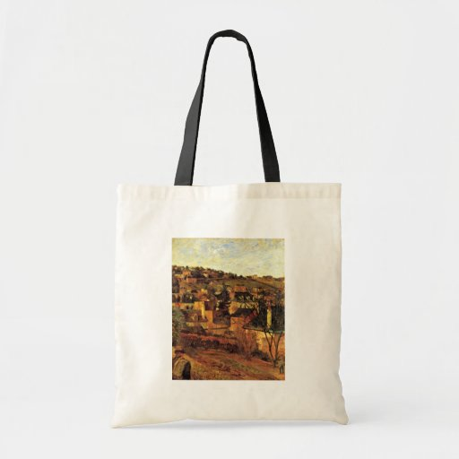 Blue Roofs At Rouen By Gauguin Paul (Best Quality) Tote Bag