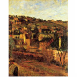Blue Roofs At Rouen By Gauguin Paul (Best Quality) Acrylic Cut Outs