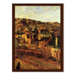 Blue Roofs At Rouen By Gauguin Paul (Best Quality) Postcard