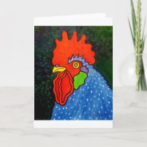 Blue Rooster 14 Card