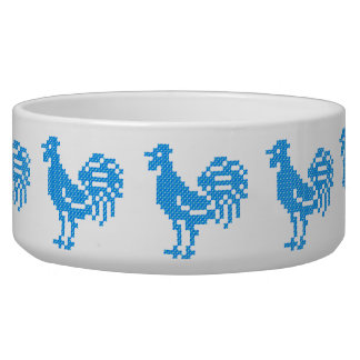 Blue Roosters Bowl