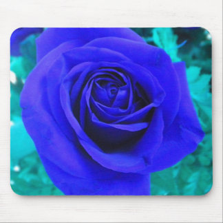Blue Rose2 mouse pad