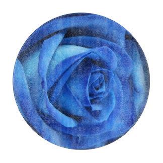 Blue Rose 1b Cutting Board