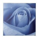 Blue Rose Azulejos De Cerâmica