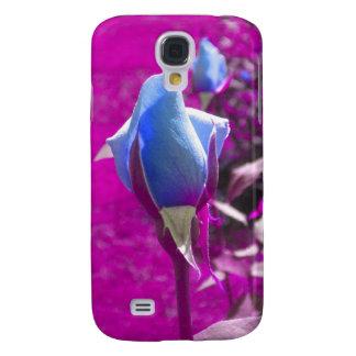 Blue Rose Bud 2 iPhone 3 case
