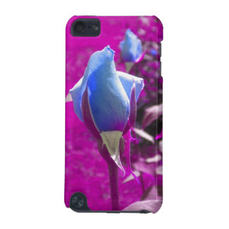 Blue Rose Bud 2 iPod Touch case