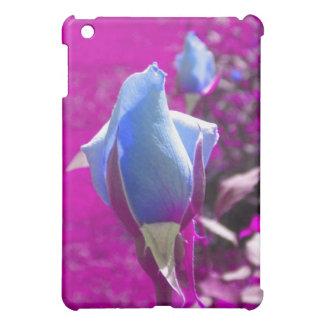 Blue Rose Bud iPad case