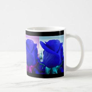 Blue Rose Buds Mug