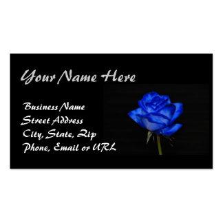 Blue Rose Business Card