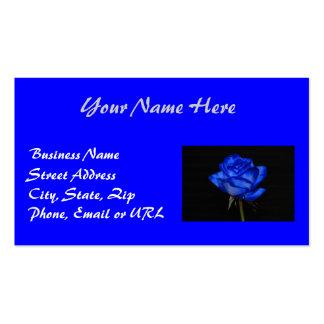 Blue Rose Business Card 2
