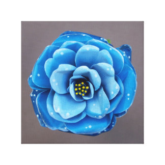 Blue Rose Constellation. Canvas Print