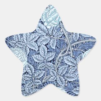Blue Rose Dream Star Sticker