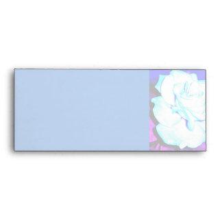 Blue Rose Envelope