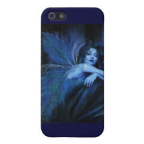 Blue rose fairy cover for iPhone SE/5/5s