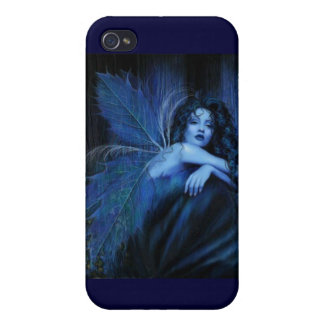 Blue rose fairy cases for iPhone 4