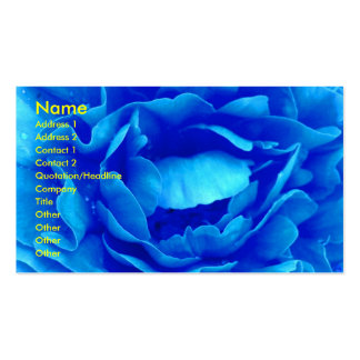 Blue Rose Florist Business Card - Customizable Business Card Templates