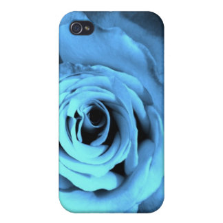 Blue Rose Items Cover For iPhone 4
