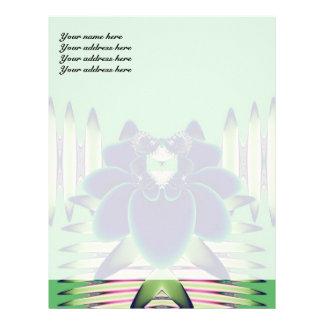 Blue Rose Letterhead