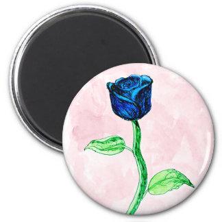 Blue Rose. Magnet
