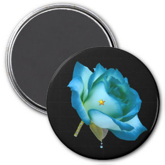 Blue Rose. Magnet