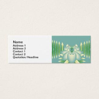 Blue Rose Mini Business Card