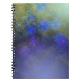 Blue Rose Mist Spiral Notebooks