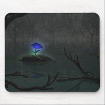 Blue Rose Mousepad