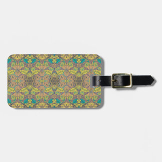 Blue Rose Novo Morris Collection Tag For Luggage