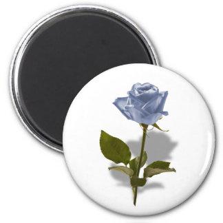 Blue Rose of Enchantment Magnet