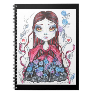 Blue Rose Oracle Fantasy Art Notebook